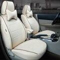Tela de lino Asiento Cubre para Volkswagen VW Passat R36 Cubierta de Asiento de Coche Accesorios Conjunto Personalizado Asientos Cubierta cubierta del Coche de Protección Cubre