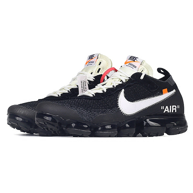 Original New Arrival Authentic NIKE X Off White VaporMax 2.0 AIR MAX Men's Running Shoes Sport Outdoor Sneakers AA3831-001 2