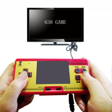 RS 20AQ handheld game players 3.0 inch color screen video game console built classic 638 in 1  retro game 8bit new portable game
