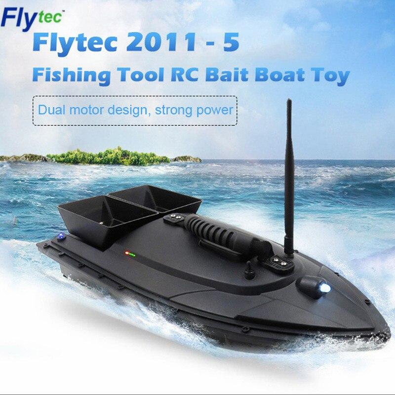 Flytec 2011-5 outil de pêche Smart RC appât bateau jouet numérique automatique Modulation de fréquence dispositif de radiocommande jouets de poisson