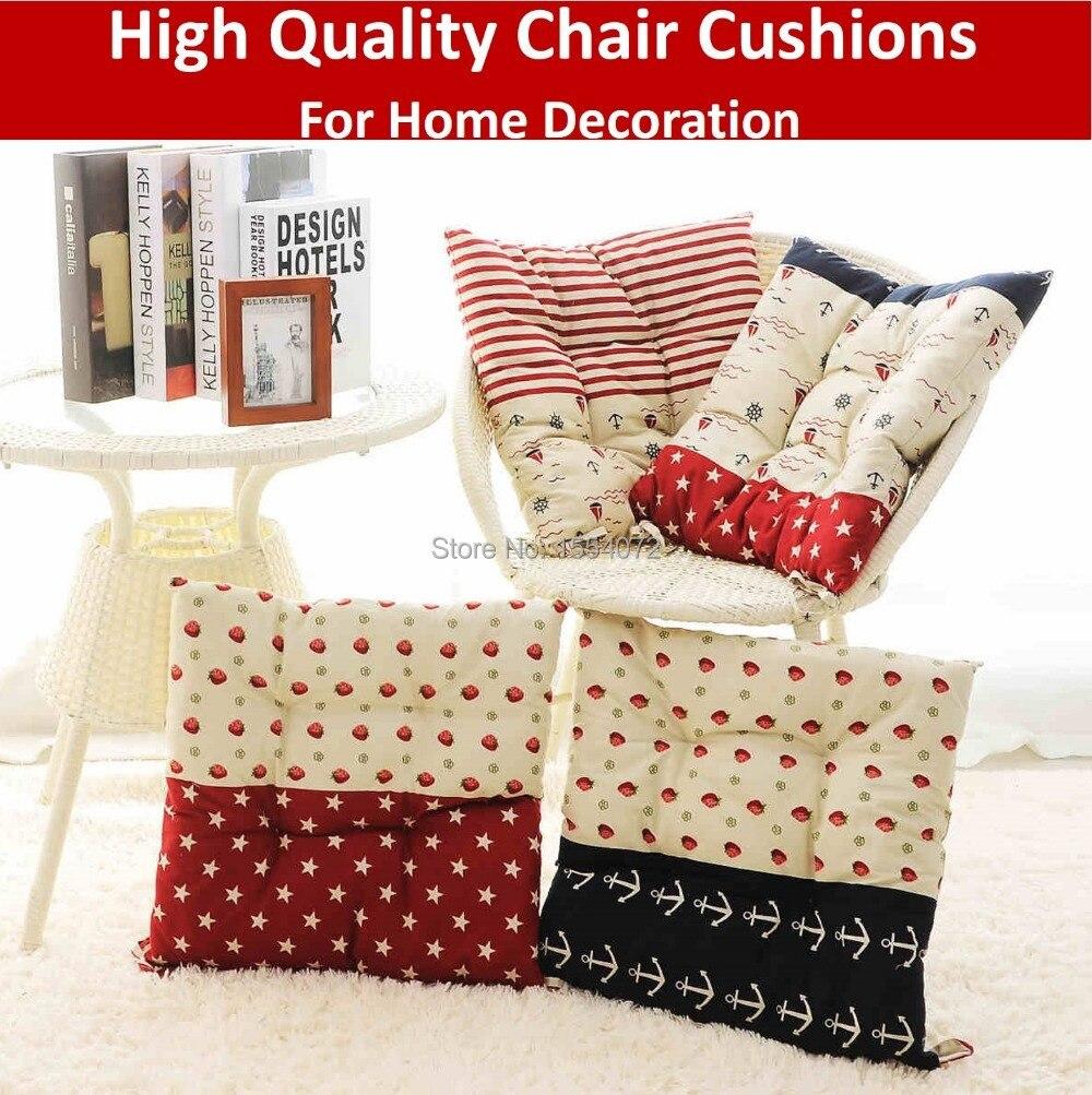 43 x 43 cm Striped salón cojines para sillas, engrosamiento de ...
