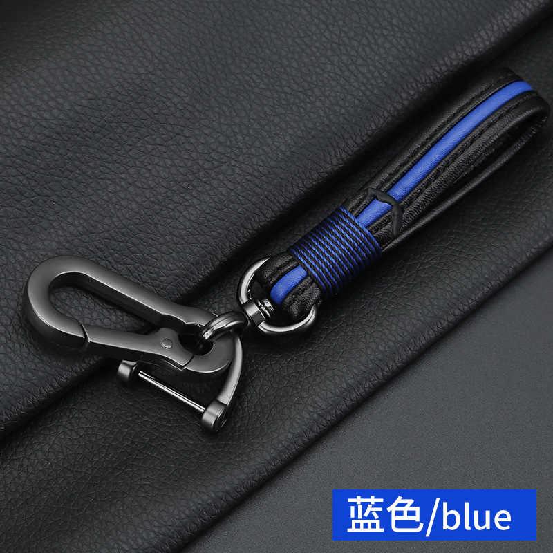 جديد الجلود سيارة معدنية التصميم المفاتيح سيارة و المنزل حلقة رئيسية حامل مدبرة المنزل لنيسان Bmw هوندا سكودا VW كيا هيونداي تويوتا