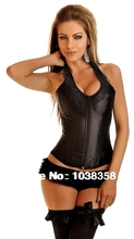 leather corset sexy plus