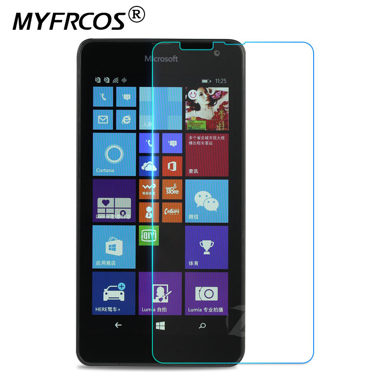 For Microsoft Lumia 535 Screen Protector Tempered Glass For Nokia Lumia 535 RM-1