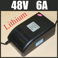 48V 6A Lithium Battery Charger High Quality Electric Bicycle Battery Charger 13S 54 6V Lithium Charger