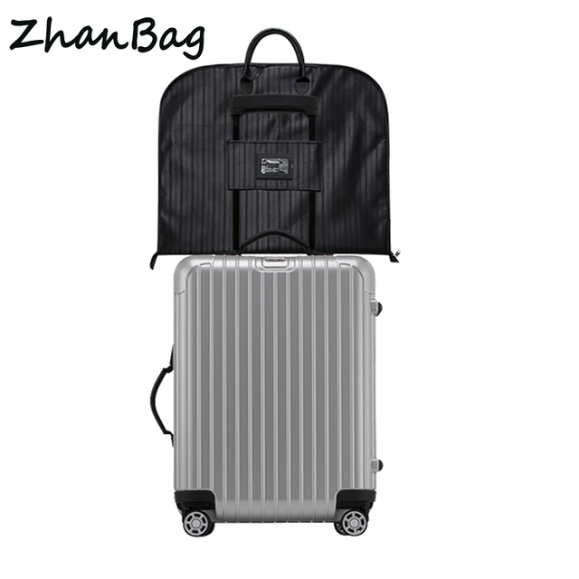 High Quality Waterproof Folding Travel Suit Bag Professional Dustproof Suitable For Storage Suits