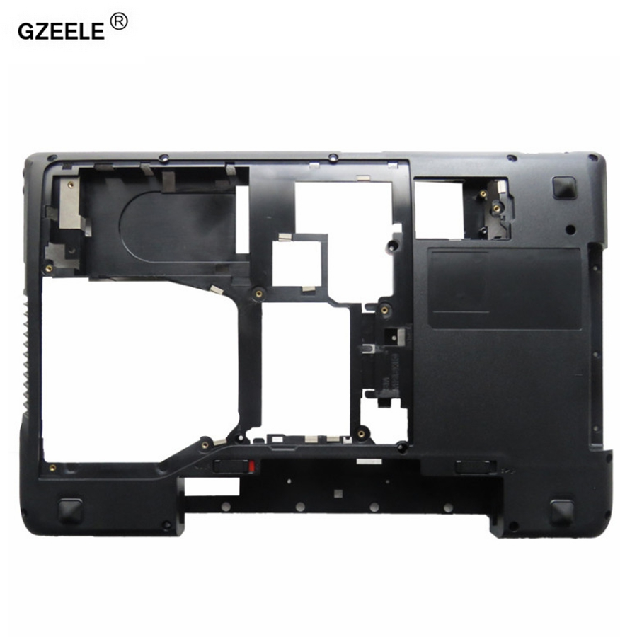 GZEELE For Lenovo For IdeaPad Y570 Y575 Bottom Base Cover Case D Cover Case Shell LAPTOP BOTTOM CASE With HDMI AP0HB000800 BLACK