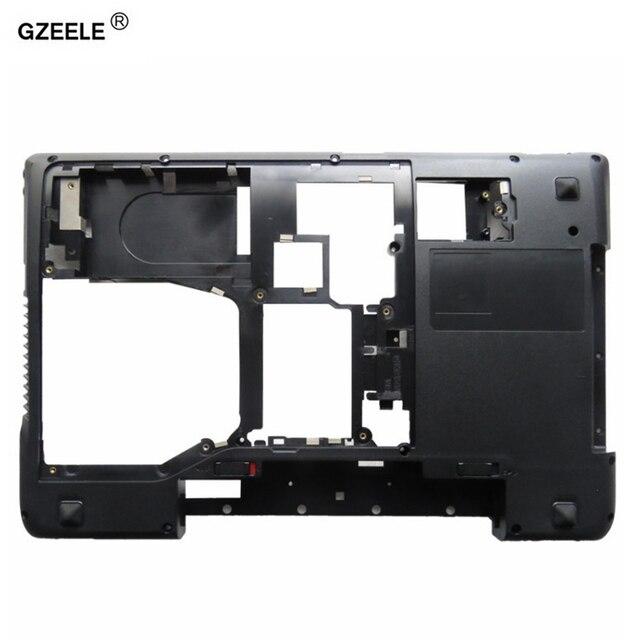 GZEELE Lenovo IdeaPad Y570 Y575 alt taban kapak kılıfı D kapak kılıf kabuk dizüstü alt kasa ile HDMI AP0HB000800 siyah