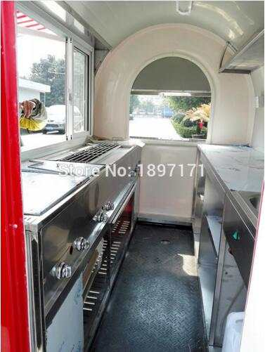 Kitchen Trailer Cabinets Lowes Online Shop Fast Food Mobile Bike Cart