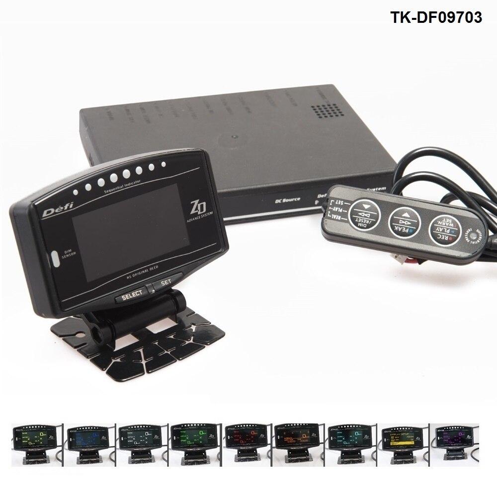 Заранее стиля ЗД все в одном цифровой Измеритель 10в1 Датчик спортивный Комплект для джип Чероки ХЈ 91-01 ТК-DF09703