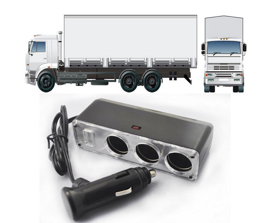 60W 60W 24V는 12V 트럭 내장 전원 전압 변환기, 24V 변환 - 의류 액세서리