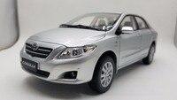 1:18 литья под давлением модель для Toyota Corolla 2008 серебро редкий сплав игрушечный автомобиль миниатюрный коллекция подарки