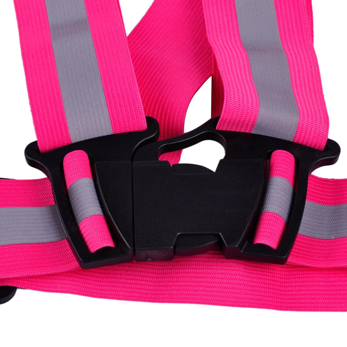 CITALL Adjustable Security Vest Safety Warning Reflective Gear Stripe Safe Belt Outdoor Night Working For Ford Mercedes Audi VW