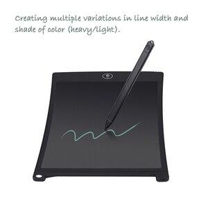 """Image 5 - NEWYES 8.5 """"الإلكترونية eالكاتب كمبيوتر لوحي LCD بشاشة للكتابة لوحة الرسم ورقة الرقمية الكتابة على الجدران أقراص المفكرة لوحة إعادة الكتابة (الأزرق)"""