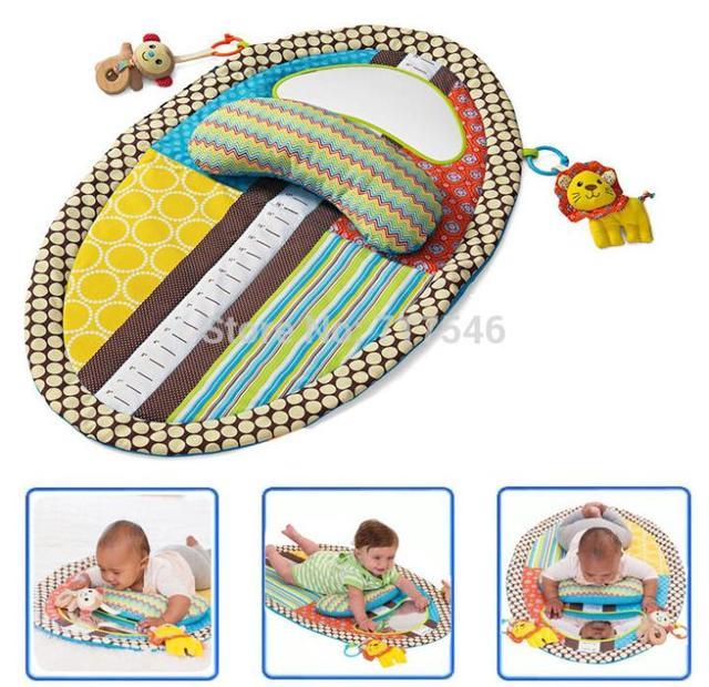 Sozzy Bebê Jogar Mat Mudando Pad Com Bicho de pelúcia, Travesseiro, Espelho de Segurança precoce Aprendizado & Educação