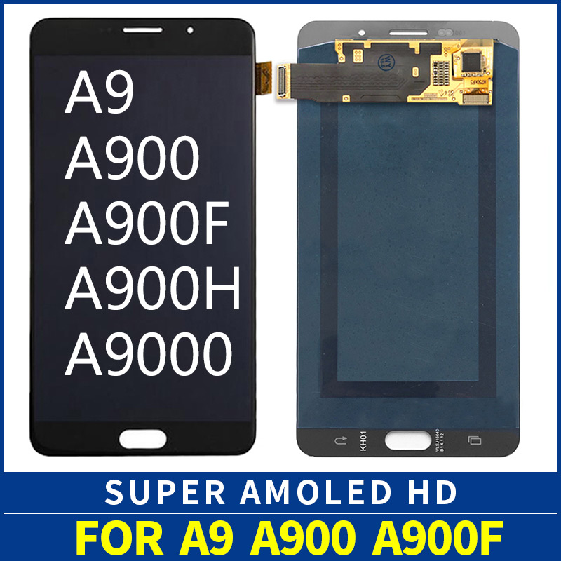 super AMOLED Replacement for SAMSUNG Galaxy A9 2016 A910F LCD Screen Display Touch Digitizer A9 A900 A9000 LCD Displaysuper AMOLED Replacement for SAMSUNG Galaxy A9 2016 A910F LCD Screen Display Touch Digitizer A9 A900 A9000 LCD Display