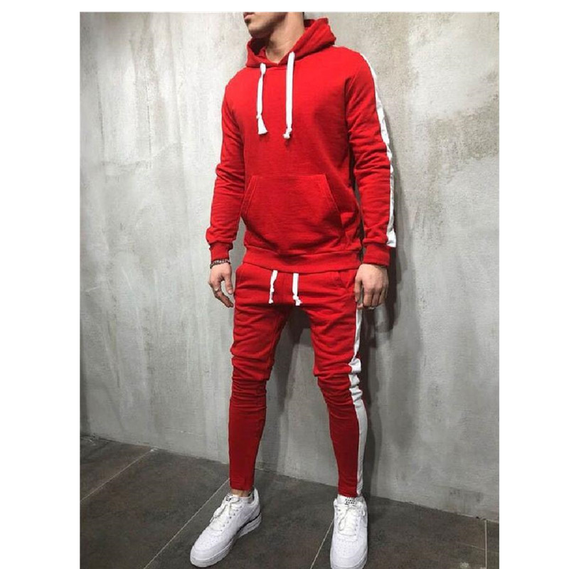 5 Colors Available Men's Compression Sportswear GYM Tights Training Clothes Suits Workout Jogging Tracksuit Set Football Suit
