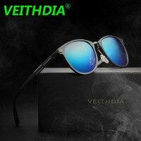 VEITHDIA Brand Polarized Sunglasses Unisex Retro Aluminum Magnesium HD Lens Eyewear Accessories Sun Glasses Oculos De