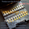 IC TEST 0805 test socket  Chip capacitors test seat SMD Capacitor socket (20 work stations)