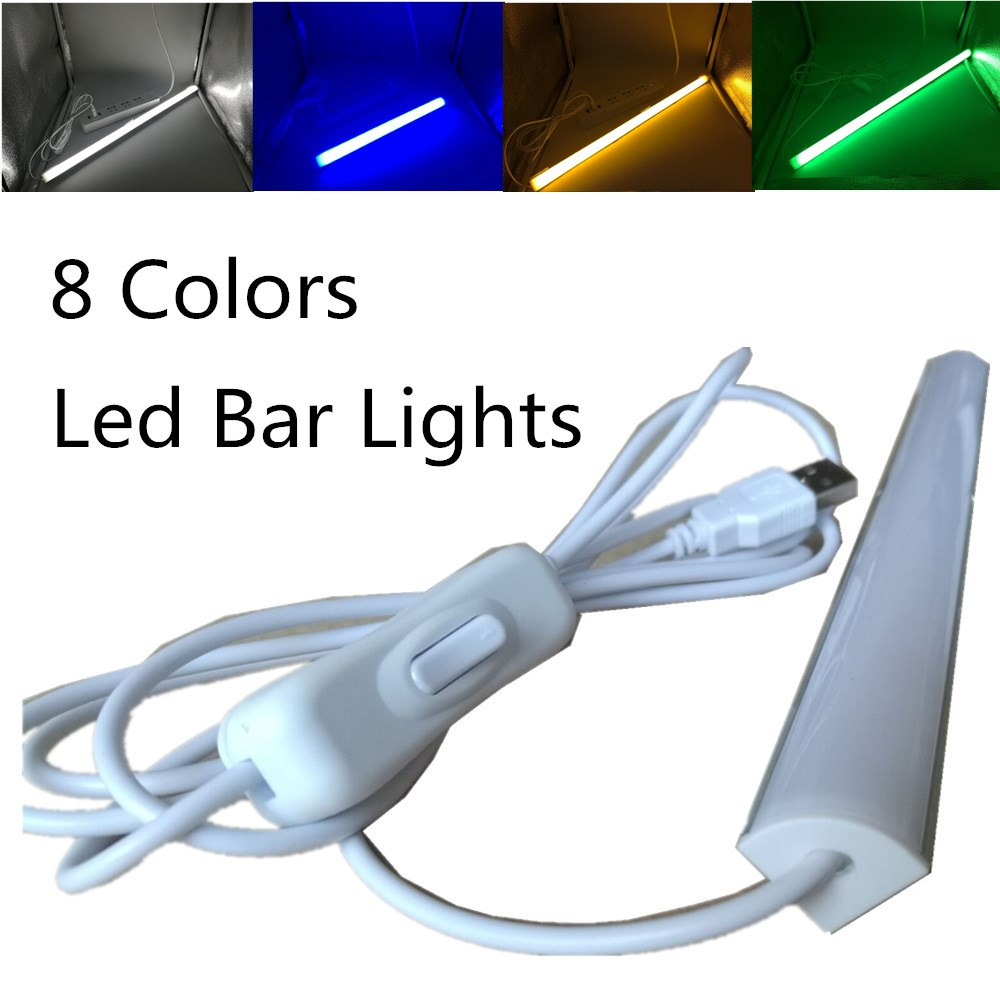 30CM 50CM LED Bar Light 2835 Aluminum LED Rigid Strip Light L shape for wall corner Kitchen under cabinet Light 90 Degree Wall