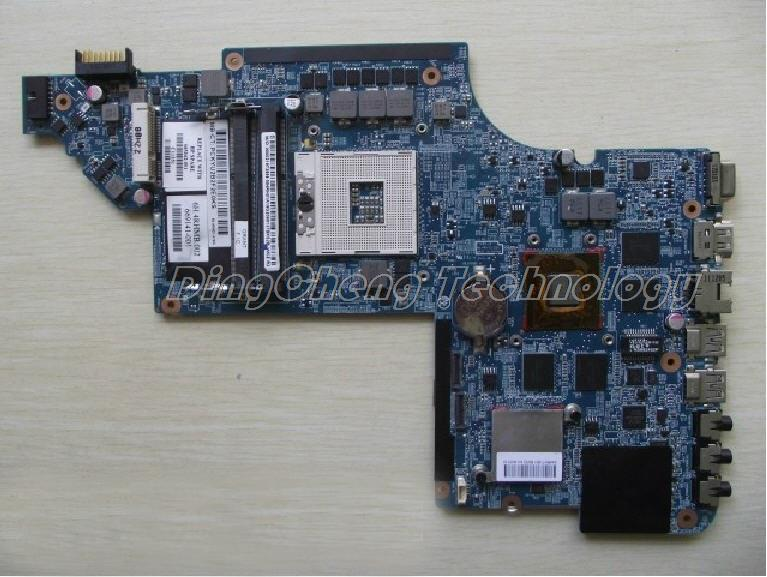 laptop Motherboard For hp DV6 DV6T-6B DV6-6000 665342-001 for intel cpu HM65 HD6770/2G QUA U3-DSC non-integrated graphics card