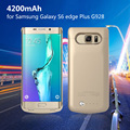 Для Galaxy S 6 edge + G928 Батареи Случаи Обложка 4200 мАч Резервной Батареи Дело для Samsung Galaxy S6 edge Plus G928 (CE, FCC, RoHS)