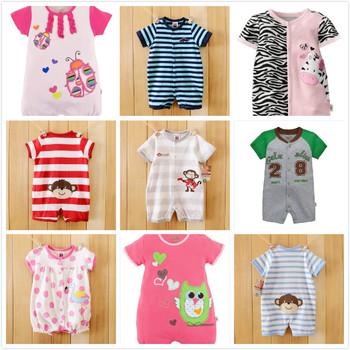 Sprzedaż Baby Girl Clothes 2020 nowe noworodki ubrania dla dzieci bawełniane chłopięce romper z długim rękawem produkt dla niemowląt śpioszki dla niemowląt tanie i dobre opinie Banjvall COTTON Zwierząt Z okrągłym kołnierzykiem Guzik obleczony Śpioszki Unisex Pełne Dobrze pasuje do rozmiaru wybierz swój normalny rozmiar