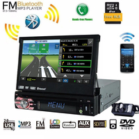 1 Din Car Dvd Player With HD Digital Touch Wince 1Din 7Inch Universal GPS Navigation Bluetooth
