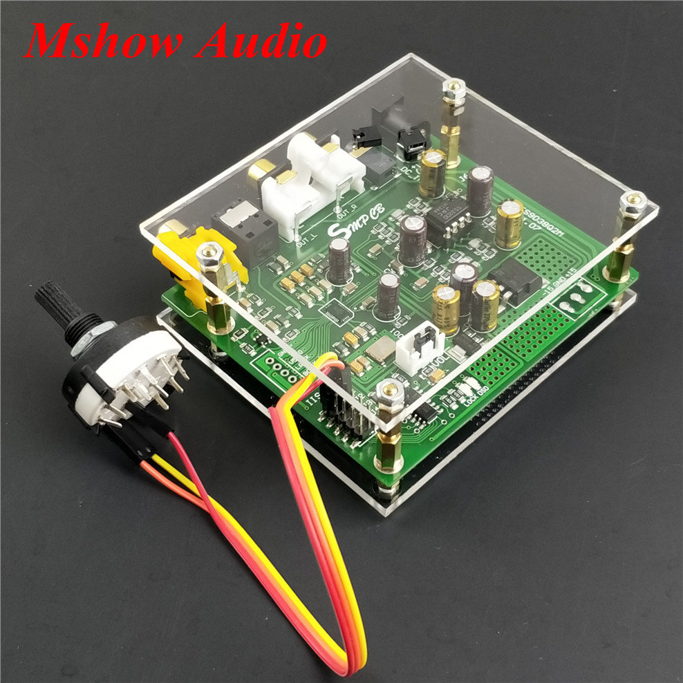 NEW ES9038 ES9038Q2M DAC Decoder board Support IIS DSD DOP 384KHz for hifi preamp amplifier audio цена 2017