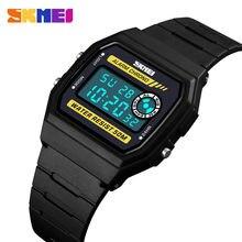 Skmei Модные женские цифровые часы секундомер спортивные 50