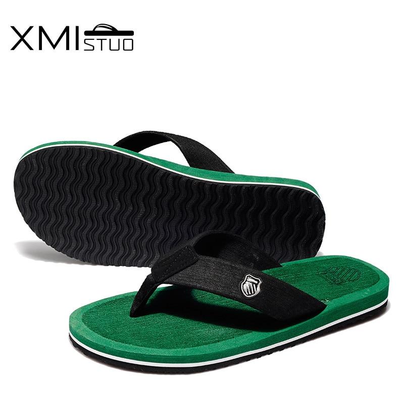 XMISTUO britu stila vīriešu apavi Cool Men Flip Flops vīriešu - Vīriešu apavi - Foto 4