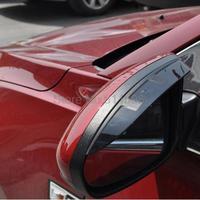Apto para Kia Sportage R 2010 2011 2012 2 pçs/set porta lateral espelhos retrovisores Sun guarda chuva escudo defletor Car Protector