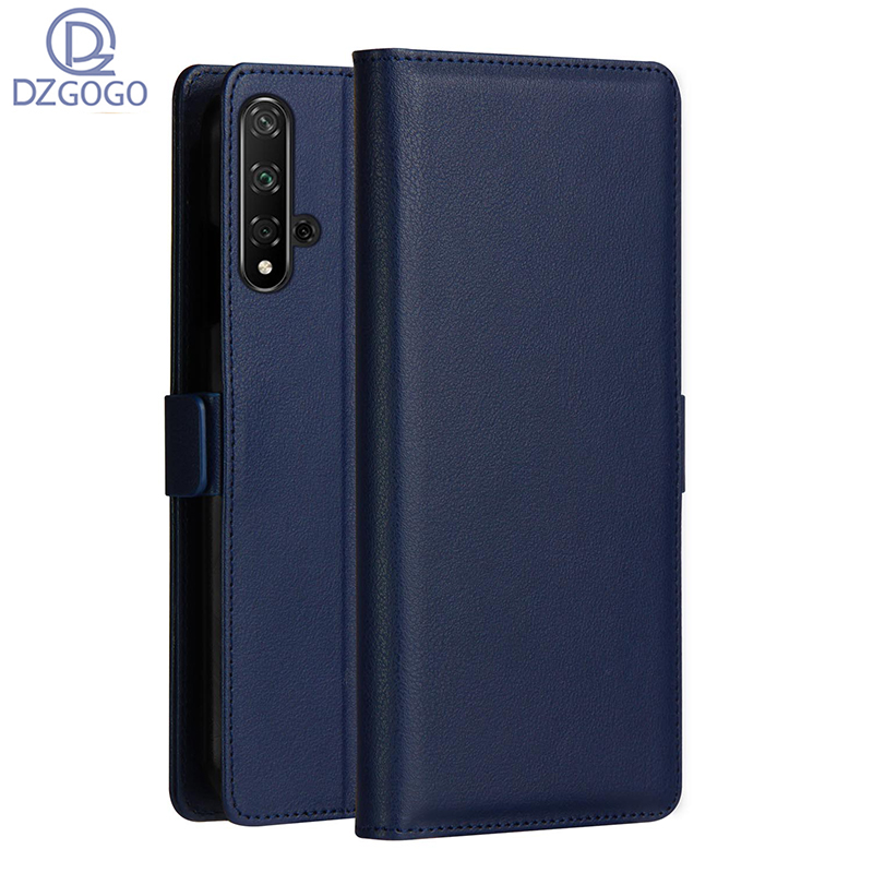 DZGOGO Luxury Magnet Flip Wallet Book Phone Case PU Leather Cover On For Huawei Honor 20 Lite Pro Honor20 20Pro 64/128/256 GB