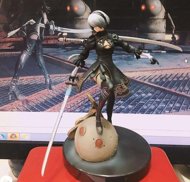 15cm NieR Automata YoRHa No. 2 Type B sexy girl Anime Action Figure PVC New Collection figures toys Collection