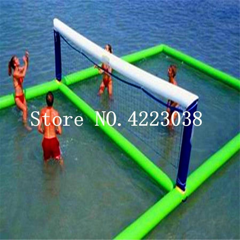 Livraison gratuite pompe gratuite 12*6 m passionnant gonflable terrain de Volleyball de leau flottant terrain de Sport gonflable plage Sport jeuLivraison gratuite pompe gratuite 12*6 m passionnant gonflable terrain de Volleyball de leau flottant terrain de Sport gonflable plage Sport jeu