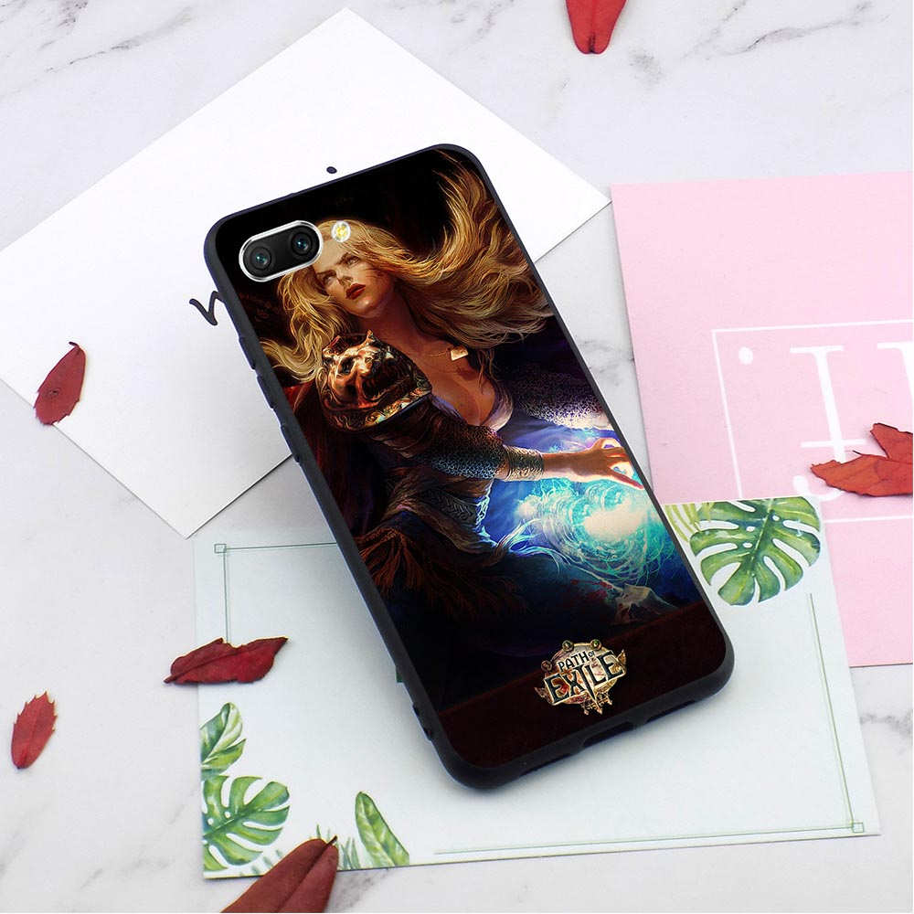 Slim Path of Exile Phone Cover for Huawei Honor Y6 Case Prime 6A 10 8 9 Lite 7A Pro 7X 7C Nova 3i 3 Skin in Fitted Cases from Cellphones Telecommunications
