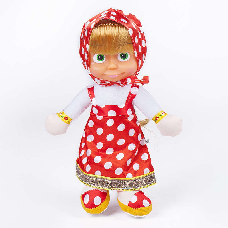 Soft-Lovely-Doll-Masha-And-The-Bear-Russia-Comedy-Child-Cotton-Animation-23CM-Plush-Toys-Send-Child-Gift-1