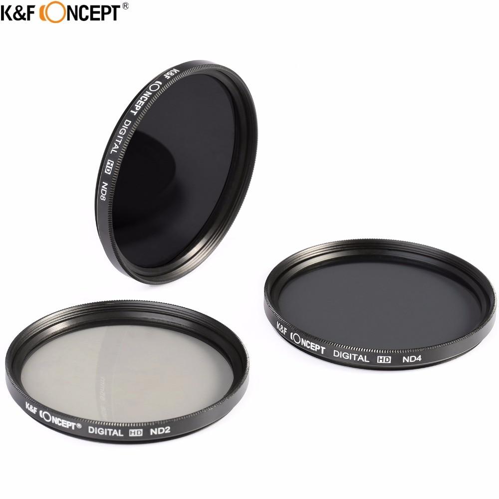 K & F CONCEPT бейтарап тығыздығы линза - Камера және фотосурет - фото 2