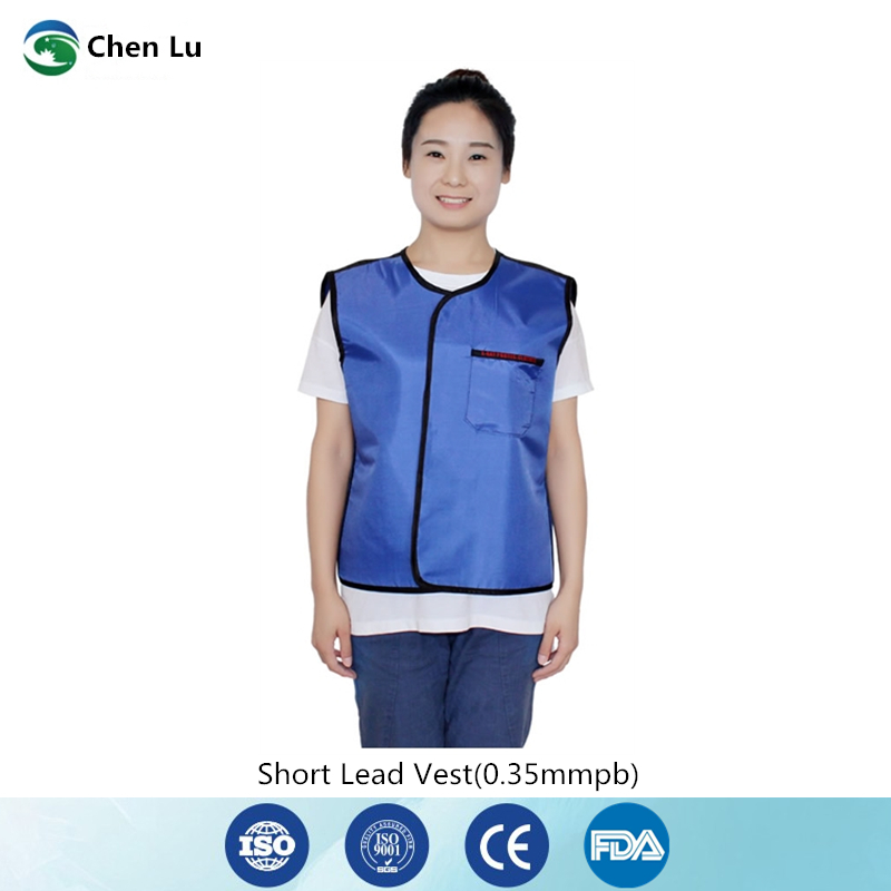 Recommend medical exposure radiological protection 0 35mmpb short lead vest Hospital laboratory x ray protective clothing