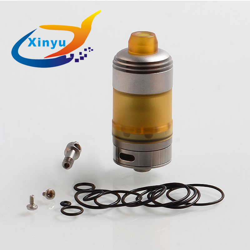 Vaporizer Coppervape Hussar Style RTA 3ml Capacity 316 Stainless Steel Adjustable Airflow Control Rebuildable Atomizer No Logo