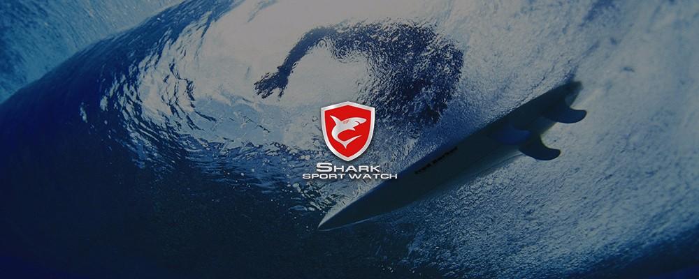 Sportlik veekindel käekell Shark meestele