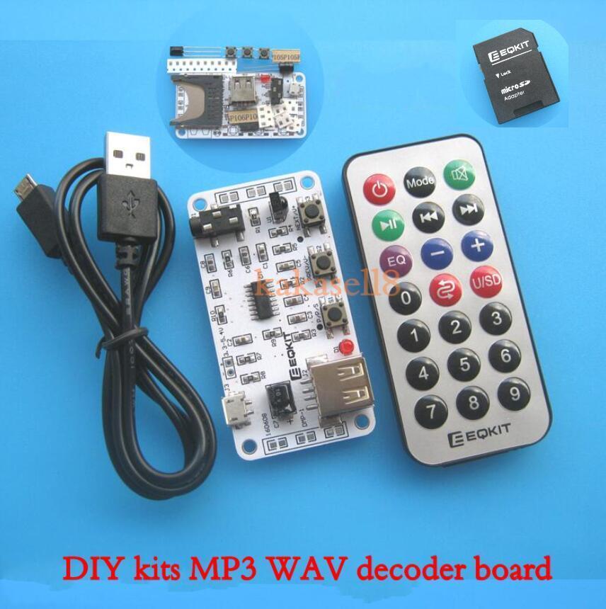 aliexpress  buy diy kits mp3 wav decoder board audio
