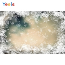 Yeele Winter Snow Bokeh Lights Glitter Backdrops Photography Personalized Photographic Backgrounds For Photo Studio
