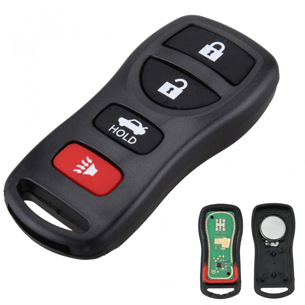 315MHZ 4 Buttons Poratable Auto Car Keyless Entry Remote Control Keys Fob Clicker Replacement KBRASTU15 for Nissan image