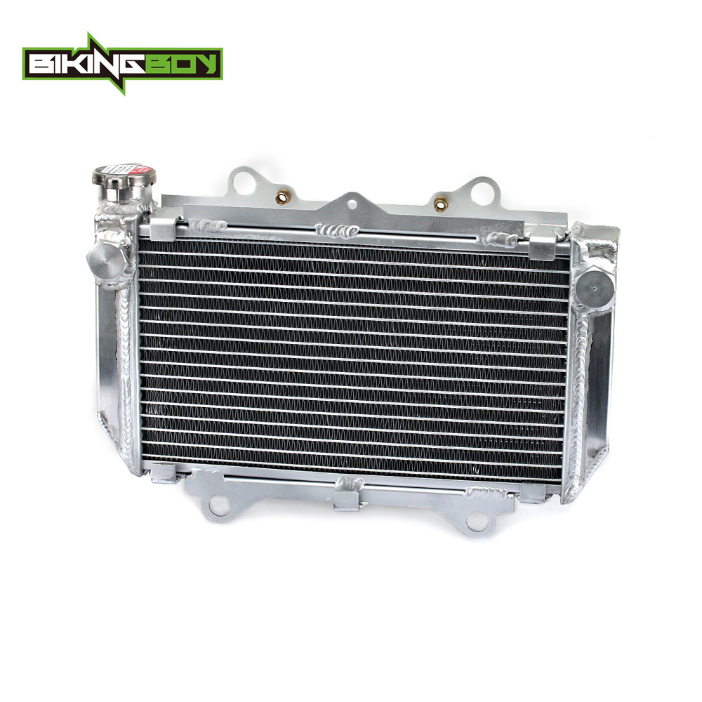 BIKINGBOY Aluminium Core ATV Quad Dirt Bike Engine Radiator Cooling for Yamaha YFZ 450 YFZ450 2004 2005 2006 2007 2008 2009 kemimoto for yamaha rhino 450 2006 2009