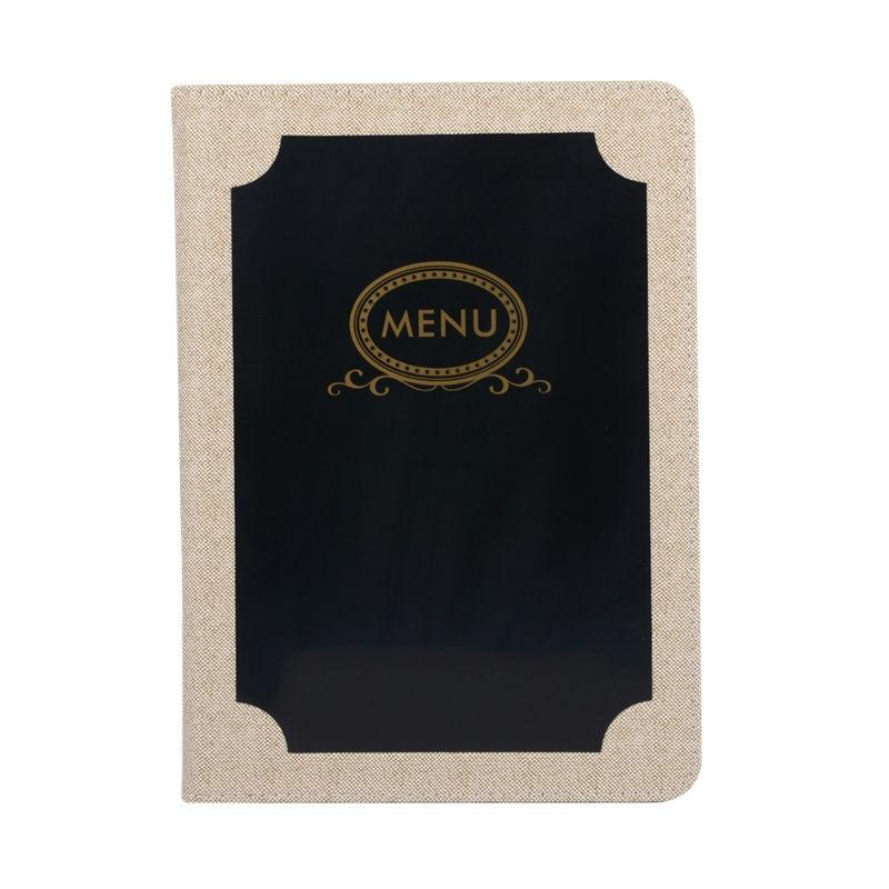 Restaurant Menu Cover Hotel Menu Folders Display Card Restaurant Menus card Holder Acceptable Customized Order pu leather menu holder restautant menu covers custom leather folders pvc page with high quality accept customized order