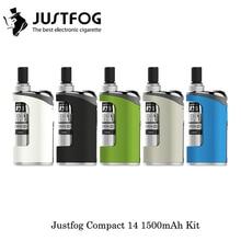 In Stock JustFog Compact 14 Kit 1500mAh Compact14 Vaporizer Kit Electro