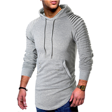 MarKyi 2019 Autumn Mens Hoodies Slim Hooded Sweatshirts Coats Male Casual Sportswear Streetwear Brand Clothing