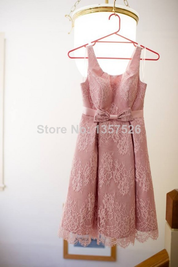 Asombroso Vestidos De Dama De Honor Nudo Ideas Ornamento Elaboración ...