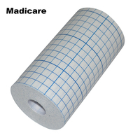 15cm X 10m Hypoallergenic Non Woven Adhesive Wound Dressing Roll Sports Fixation Tape Fixomull
